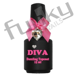 dazzling topcoat diva nails funky nails