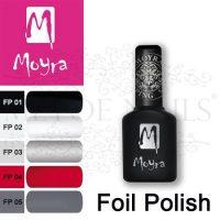 Moyra Foil Polish For Stamping 7 flesjes