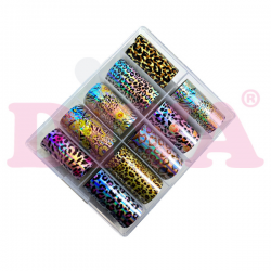 Transfer folies in een box 44 funkynails