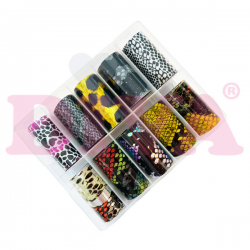 10 m Transfer folies in een box 61 funkynails