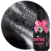 Diva Gel Lak Cat Eye Glamour 15 ml funkynails