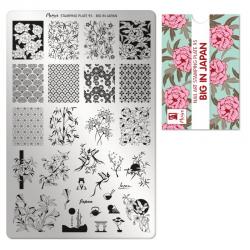 Moyra Stamping Plaat 95 Big in Japan funkynails