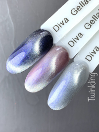 Diva Gellak Cat Eye Twinkling 15 ml funkynails3