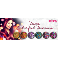 Diamondline Diva Colorful Dreams Collection funky nailssalon