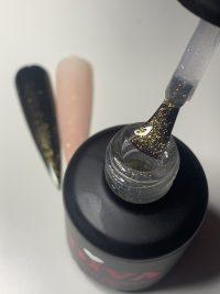 Topcoat Sparkling Gold zonder plaklaag funkynails