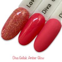 Diva Gellak Amber Glow funkynails