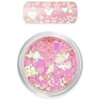 Moyra Rainbow love Glitter Mix no 1 rose funkynails