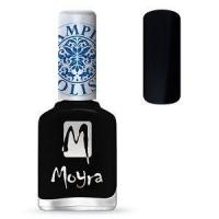 Moyra Stamping Nail Polish Black 12ml sp06 funkynails