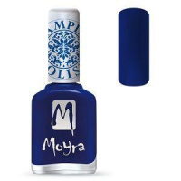 Moyra Stamping Nail Polish Blue 12ml sp05 funkynails