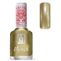 Moyra Stamping Nail Polish Chrome Gold 12ml no24 funkynails