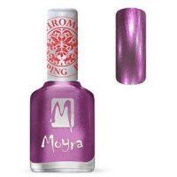 Moyra Stamping Nail Polish Chrome Purple 12ml sp28 funkynails