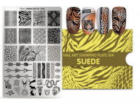 Moyra Stamping Plate 104 Suede levering funky nails