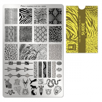 Moyra Stamping Plate 104 Suede levering funkynails