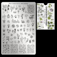Moyra Stamping Plate 105 Urban Garden funkynails