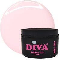 DIVA Builder Gel Milky Pink 15 ml