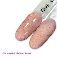 Diva Gellak Golden Dress 15 ml