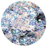 Diamondline Flake It Up Laser Silver